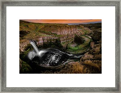 Framed Print featuring the photograph The Palouse by Francisco Gomez