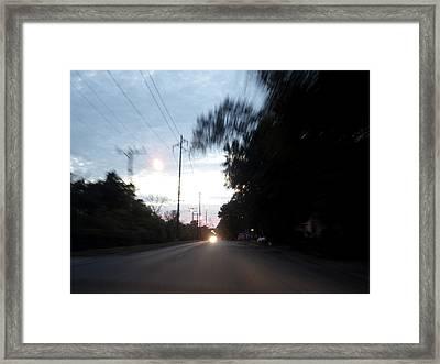 The Passenger 04 Framed Print