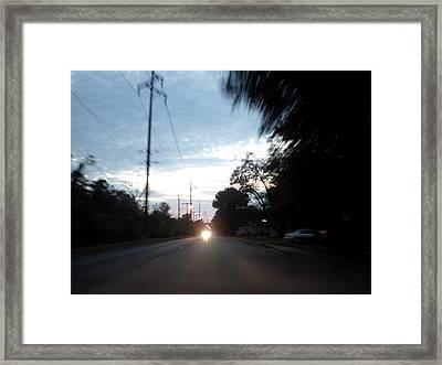 The Passenger 05 Framed Print