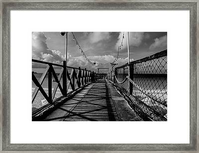 The Pier #2 Framed Print
