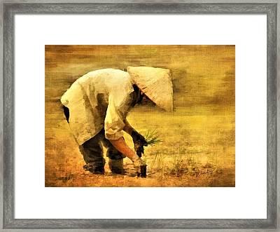 The Planter Framed Print
