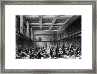 The Reading Room Framed Print by Hulton Archive