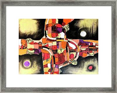 The Reeping Framed Print