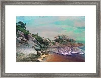 The Rising Tide Montage Framed Print
