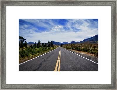 The Road Best Traveled Framed Print