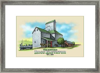 The Ross Elevator Framed Print