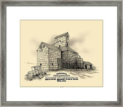 The Ross Elevator Version 2 Framed Print