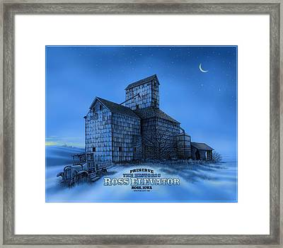 The Ross Elevator Version 3 Framed Print