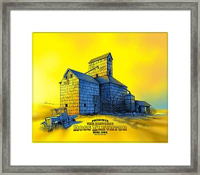 The Ross Elevator Version 4 Framed Print