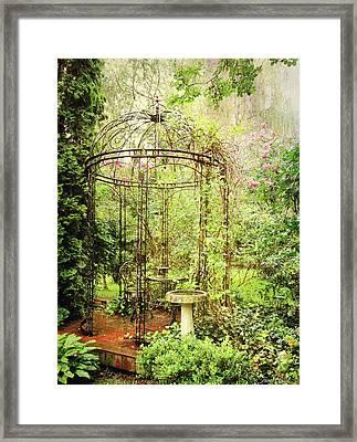 The Secret Garden Framed Print