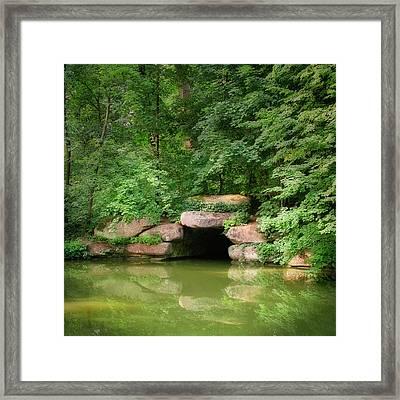 The Secret Grotto. Uman, 2010. Framed Print