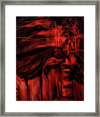 The Shap Shifters Call Framed Print