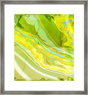 The Sheen From The Arizona Framed Print