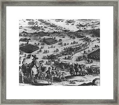 The Siege Of Breda Framed Print by Fotosearch