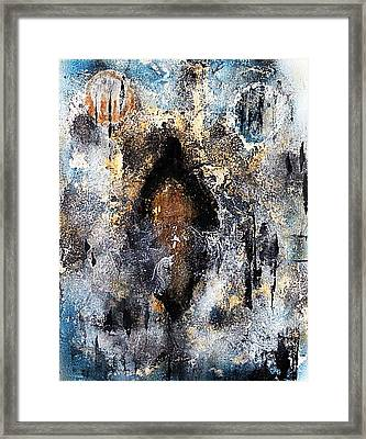 Framed Print featuring the painting The Sojourner  by 'REA' Gallery