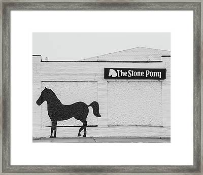 Framed Print featuring the photograph The Stone Pony - Asbury Park by Kristia Adams