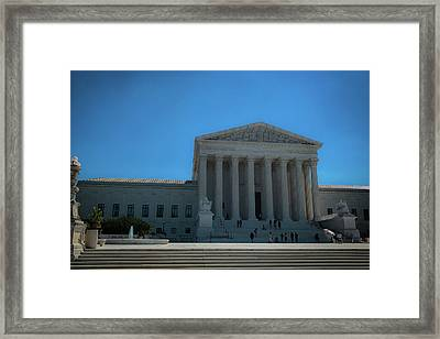 The Supreme Court Framed Print