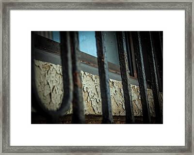 The Texture Of Time Framed Print