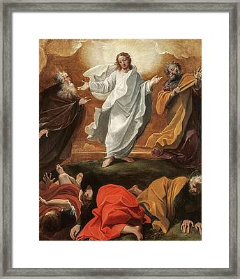 The Transfiguration, 1590 Framed Print