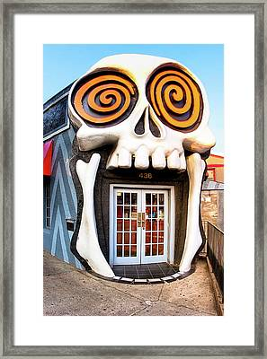 The Vortex In Eclectic Little Five Points Framed Print