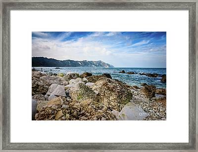 The Winter Sea #1 Framed Print