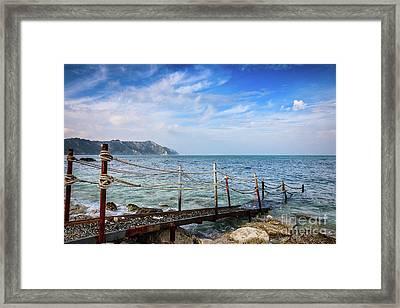 The Winter Sea #2 Framed Print