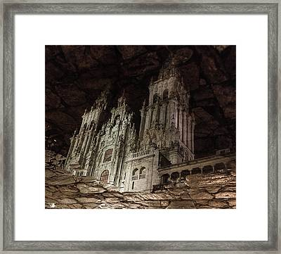 The World At Your Feet Framed Print