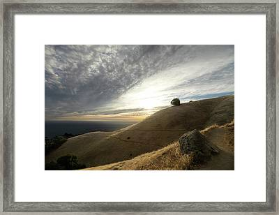 A Place For Thinking Framed Print