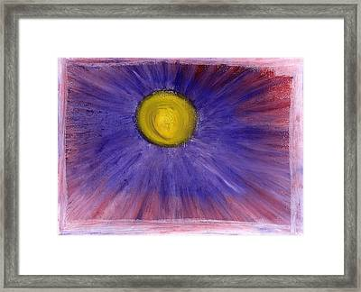 Framed Print featuring the pastel This Is How Dreams And Nightmares Are Made Of by Bee-Bee Deigner