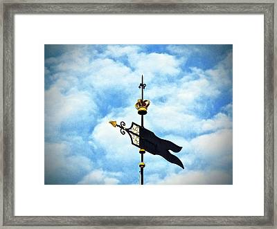 This Way... Framed Print
