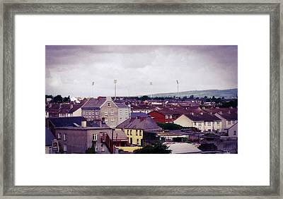 Framed Print featuring the photograph Thomond Park by JLowPhotos