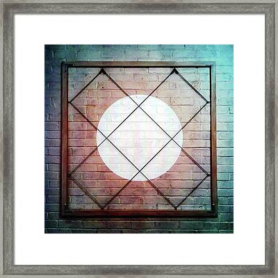 Three - Wall Framed Print