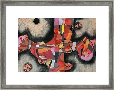 Thresher Framed Print