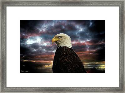 Thunder Eagle Framed Print