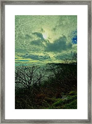 Thunder Mountain Clouds Framed Print