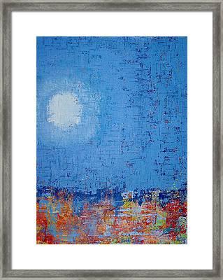 Tidepool Original Painting Sold Framed Print