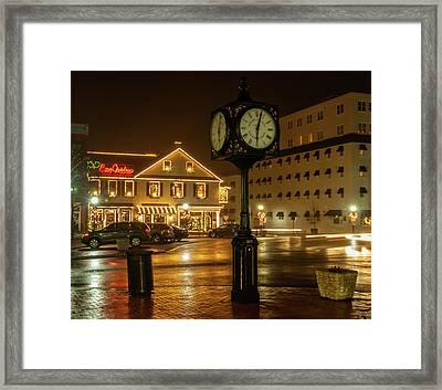 Time For Christmas Framed Print