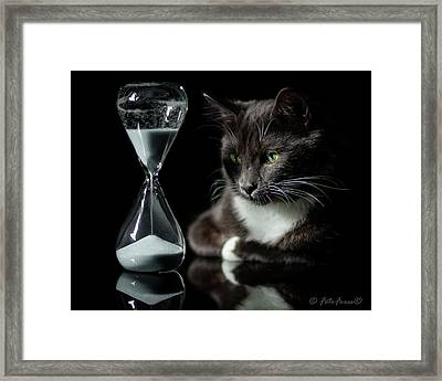 Time Keeper Framed Print