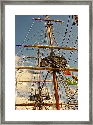 Time To Set Sail Framed Print