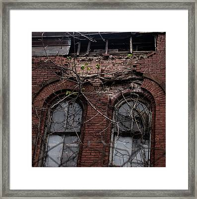 Time's Cathedral Framed Print
