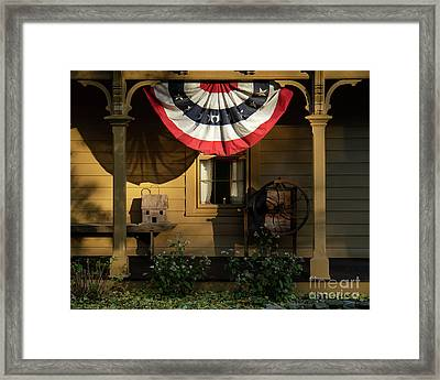 Times Remembered Framed Print