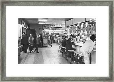 Times Square Arcade, 1964 Framed Print by Fred W. McDarrah