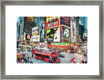Times Square II Special Edition Framed Print