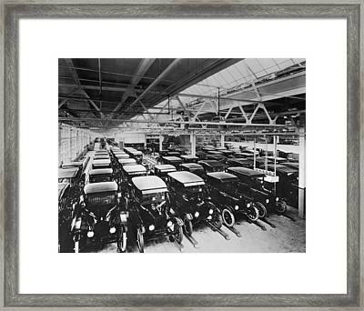 Tin Lizzy Factory Framed Print by Hulton Archive