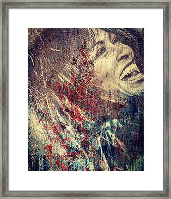 Tina Turner Spirit  Framed Print