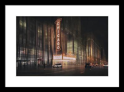 Live Theater Framed Prints
