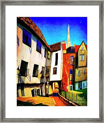 Tombeland Alley Framed Print