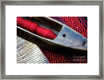 Tools Of Trade Framed Print