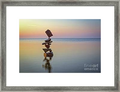 Total Zen Framed Print