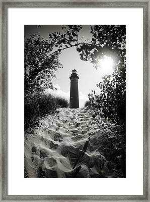 Framed Print featuring the photograph Tower by Michelle Wermuth